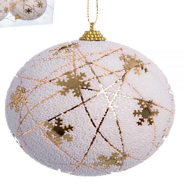 Conjunto 6 Bolas Natal Estrelas