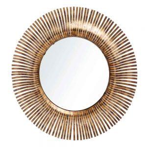 Espelho Metal Ouro Envelhecido | Homeart - Design e Decoração de Interiores | 19000911