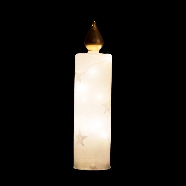 Decoração Luminosa em vidro