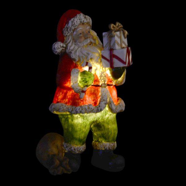Figura Pai Natal Resina