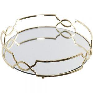 Bandeja Metal Espelhada | Homeart - Design e Decoração de Interiores | 19000930