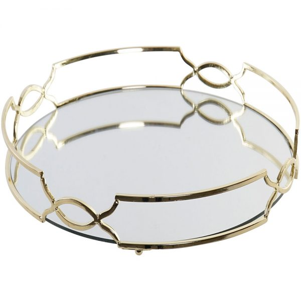 Bandeja Metal Espelhada