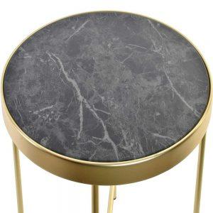 Mesa Apoio Metal e Mármore | Homeart - Design e Decoração de Interiores | 19000934