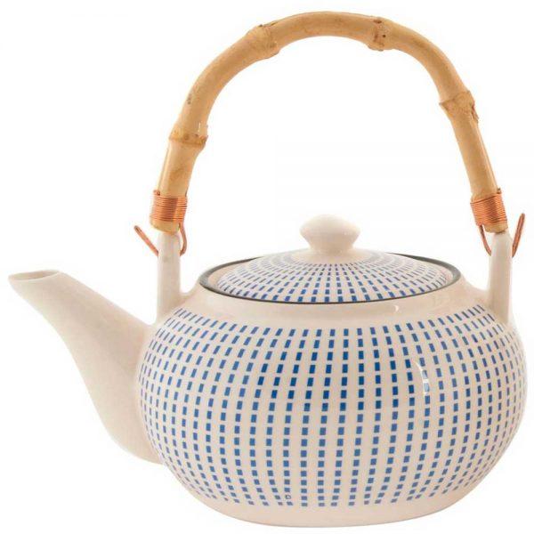 Chaleira Cerâmica Azul
