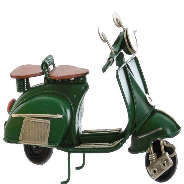 Lambreta Vintage Metal Verde