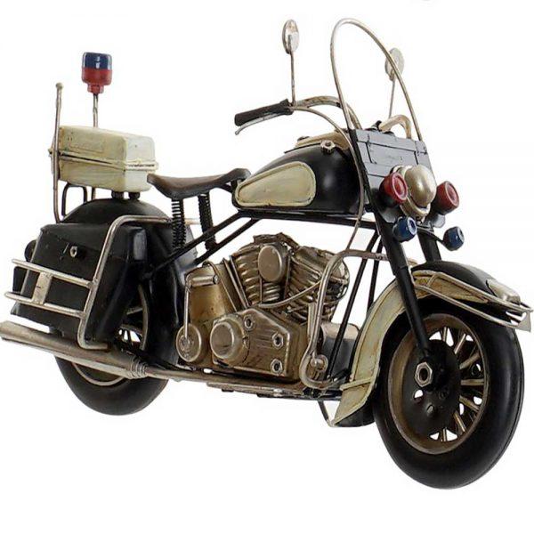 Moto Vintage Metal Preto