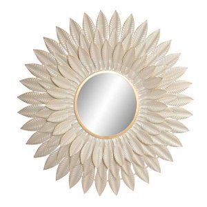 Espelho Metal efeito Folhas | Homeart - Design e Decoração de Interiores | 19000975