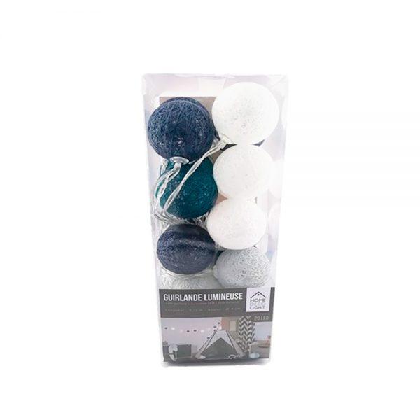 Grinalda Led Azul 20 lâmpadas